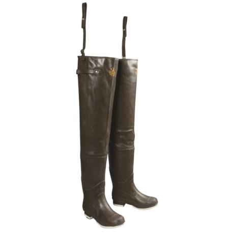 Good For Hip High Water Proline Hip Boots Rubber Felt