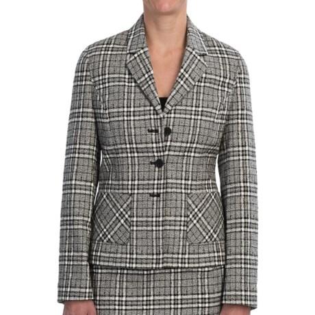 Pendleton At Ease Jacket - Textured Plaid (For Women)
