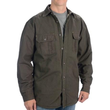 Moose Creek Canvas Shirt Jacket (For Men)