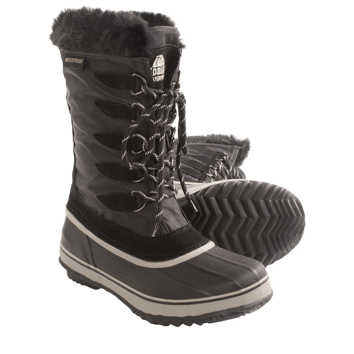 Wonderful Kodiak Womens Kyra Snow Boots 718130 Brown 4 UK 37 EU 6 ...