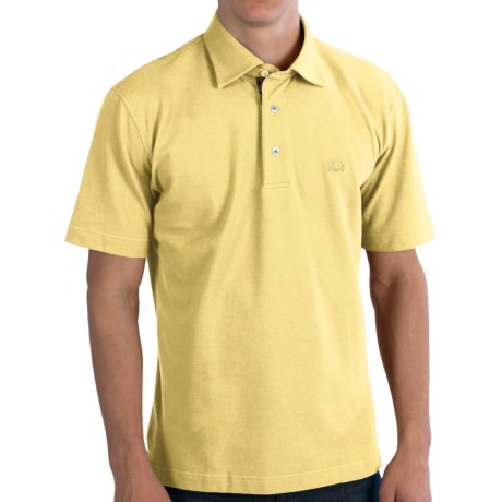 Van Laack Pio Polo Shirt - Cotton Pique, Short Sleeve (For Men)