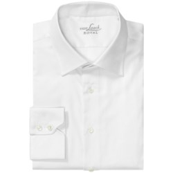 Van Laack Ret Cotton Shirt - Spread Collar, Long Sleeve (For Men)
