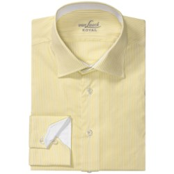 Van Laack Ret Stretch Cotton Blend Shirt - Spread Collar, Long Sleeve (For Men)