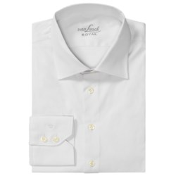 Van Laack Ret Stretch Cotton Shirt - Spread Collar, Long Sleeve (For Men)