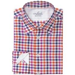 Van Laack Radici Linen-Cotton Shirt - Hidden Button-Down Collar, Long Sleeve (For Men)