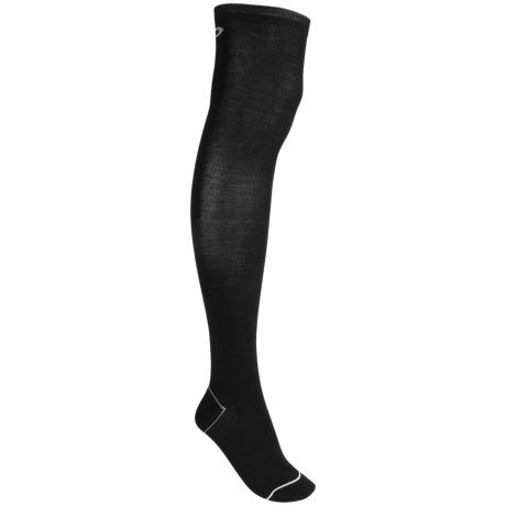 Pantherella Contrast Trim Socks - Wool Blend, Over-the-Knee (For Women)