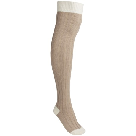 Pantherella Tall Rib Socks - Wool Blend, Over-the-Knee (For Women)