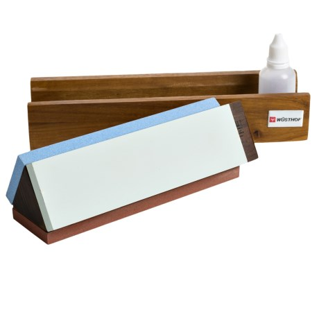Wusthof Tri-Stone Knife Sharpening Kit
