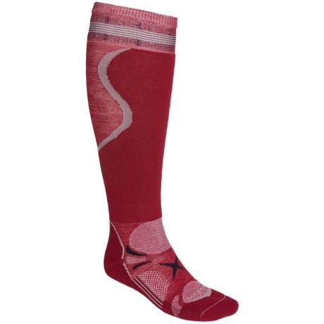 Lorpen T3 Light PrimaLoft® Eco Ski Socks - Lightweight, Merino Wool, 2-Pack (For Men and Women)