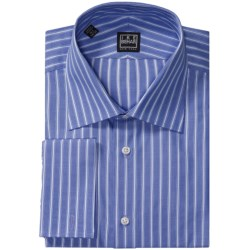 Ike Behar Silver Label Stripe Dress Shirt - Cotton, French Cuff, Long Sleeve (For Men)