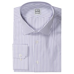 Ike Behar Silver Label Stripe Dress Shirt - Long Sleeve (For Men)