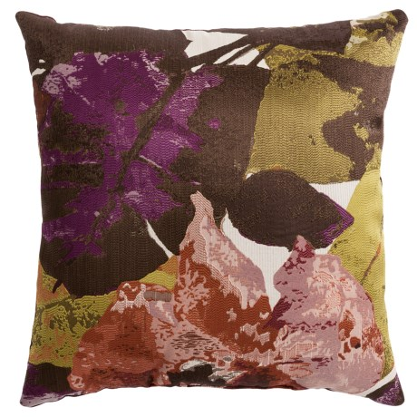 Commonwealth Home Fashions Fiji Watercolors Decor Pillow - 18x18""