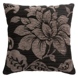 """Commonwealth Home Fashions Mulberry Jacquard Decor Pillow - 18"""" Square"""