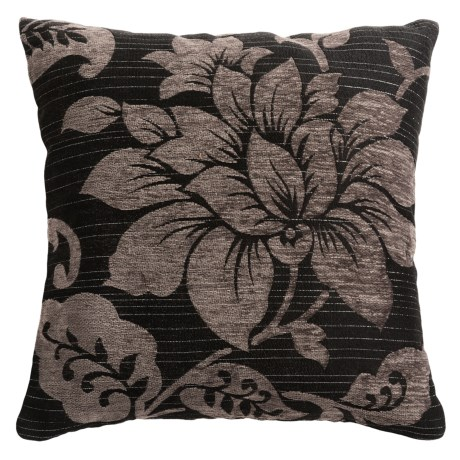 "Commonwealth Home Fashions Mulberry Jacquard Decor Pillow - 18"" Square"