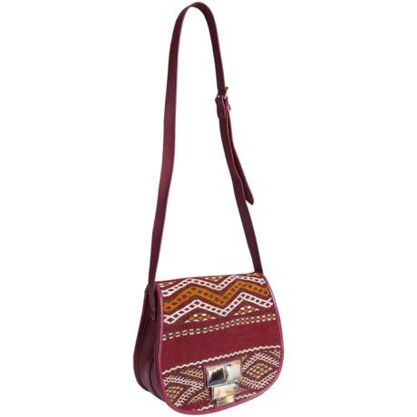 Motif56 Danielle Leather Handbag (For Women)