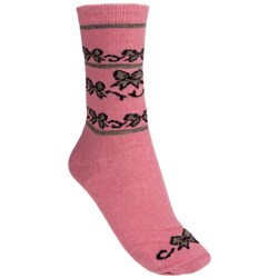 b.ella Alana Ribbons & Bows Socks - Merino Wool-Cashmere Blend (For Women)