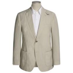 Kroon Stretch Cotton Sport Coat - Detachable Throat Latch (For Men)