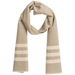 Faribault Woolen Mills Co. Trapper Stripe Edged Scarf - Wool (For Men and Women)