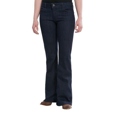 Wrangler Rock 47 Jeans - Flare Leg, Low-Rise (For Women)