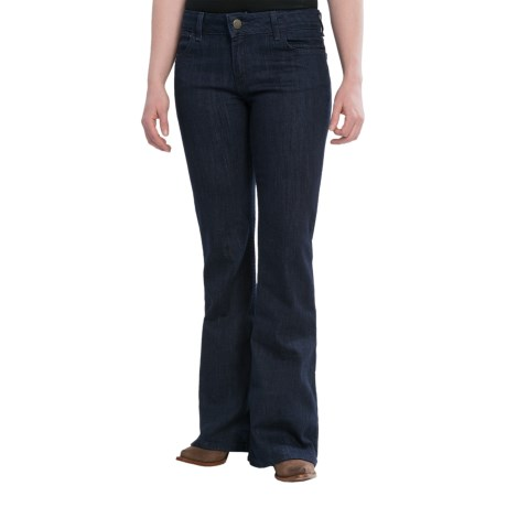 Wrangler Rock 47 Jeans - Flare Leg, Low-Rise (For Women)