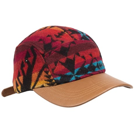 Pendleton Maize Spirit Cap - Wool Jacquard, Leather Bill (For Men and Women)