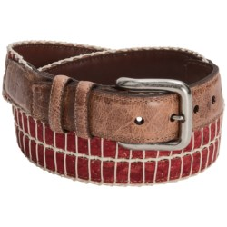 Torino Colored Cork and Cotton Belt (For Men)