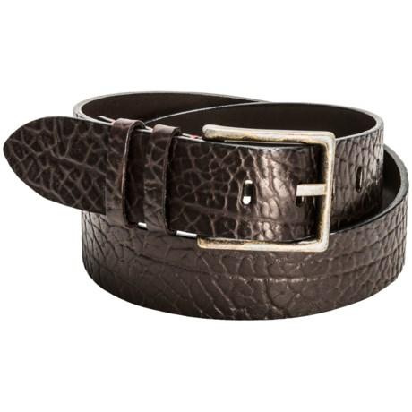 Torino Tumbled Leather Belt (For Men)