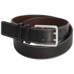 Torino Double-Prong Leather Belt (For Men)