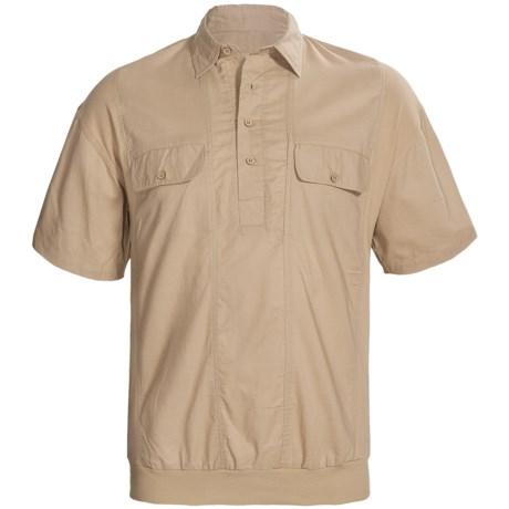 Combo Cotton Shirt - Short Sleeve (For Big Men)