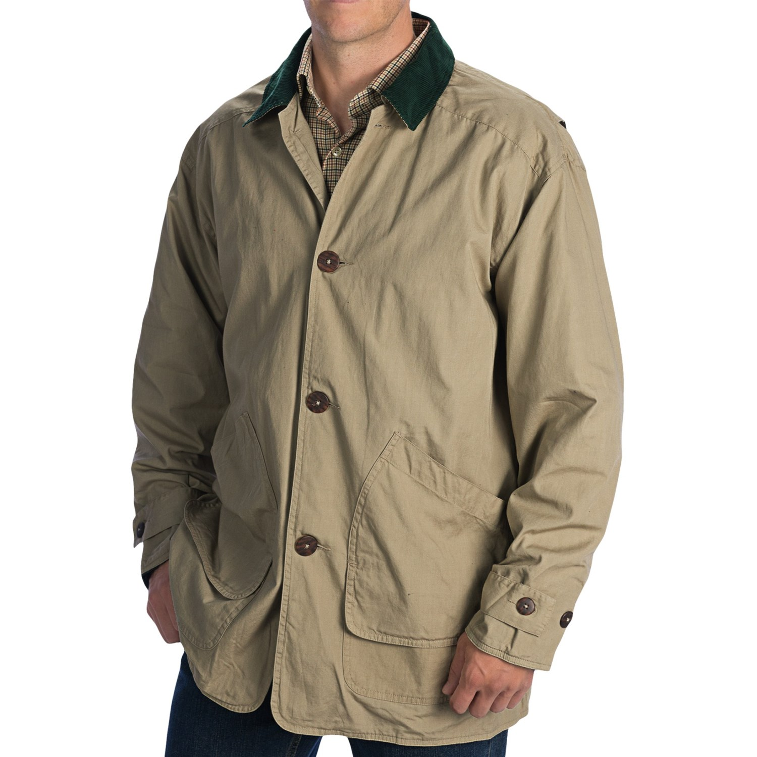 Gore-Tex and thinsulate are lightweight, waterproof, and warm fabrics suitable for all-weather use. To see the full collection of best men's jackets, start slideshow below.
