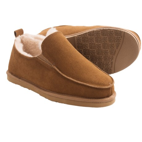 Dije California Footwear Piru Sheepskin Slippers - Moc Toe  (For Men)