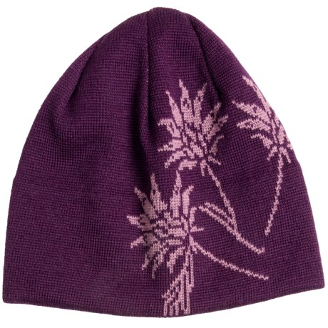 Chaos Bloom Beanie Hat (For Women)