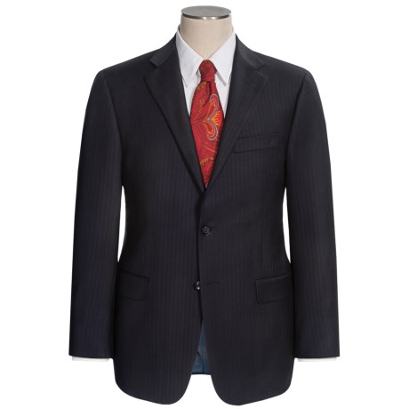 Hickey Freeman Fine Multi-Stripe Suit - Worsted Wool (For Men)