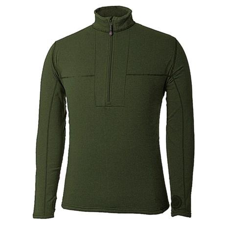 Terramar Ecolator Fleece Base Layer Top - UPF 50+, Zip Neck, Long Sleeve (For Men)