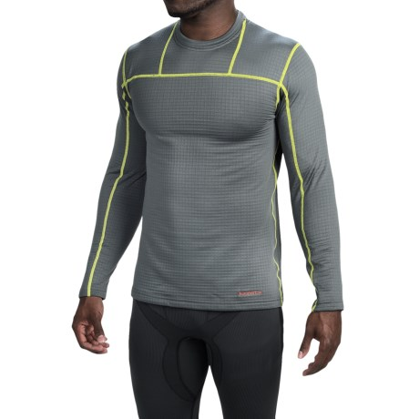 Terramar Ecolator Fleece Base Layer Top - UPF 50+, Long Sleeve (For Men)