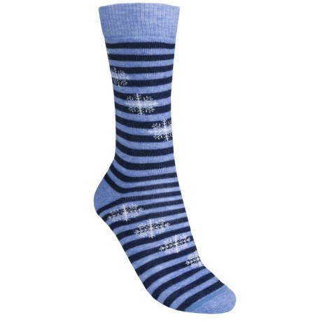 Fox River Pippi Jr. Ski Socks - Merino Wool, Over the Calf (For Girls)