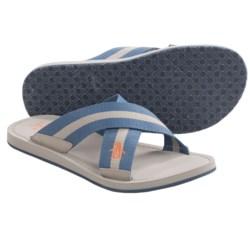 Penguin Footwear Poolside Cross Strap Sandals (For Men)