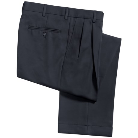 Barry Bricken Microfiber Twill Pants - Pleated (For Men)