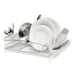 OGGI Dish Drain Set - 4-Piece, Stainless Steel
