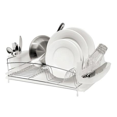 OGGI Dish Drain Set - 4-Piece, Stainless Steel