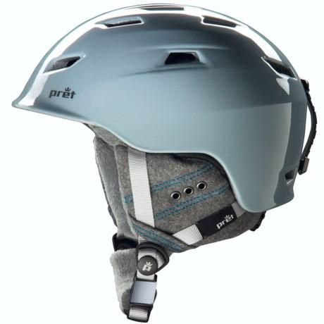Pret Luxe Snowsport Helmet (For Women)