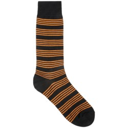 Pantherella Stripe Dress Socks - Mid-Calf (For Men)