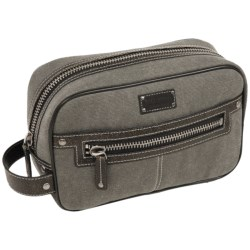 Bill Adler Canvas Dopp Kit