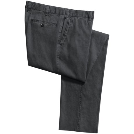 Hiltl Dylan Chino Faded Pants - Stretch Cotton (For Men)