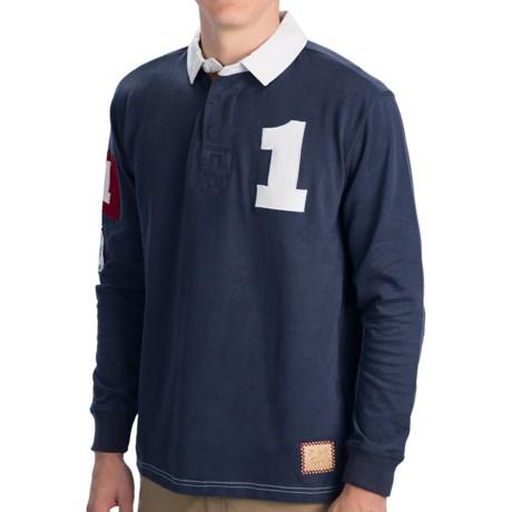 Alp-n-Rock Rugby Shirt - Cotton, Long Sleeve (For Men)