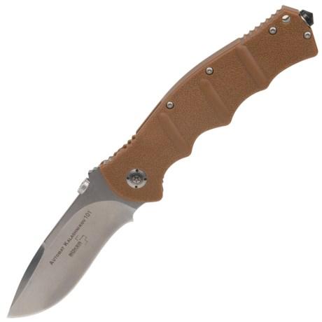 Boker Plus Kalashnikov Folding Pocket Knife - Straight Edge, Liner Lock