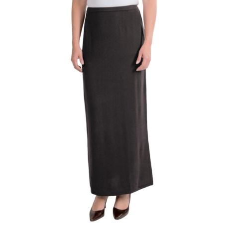 Select Belford Cashmere Skirt - Full Length (For Women)