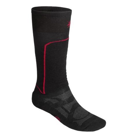 SmartWool Ski Light Socks - Merino Wool, Lightweight, Over-The-Calf (For Men and Women)