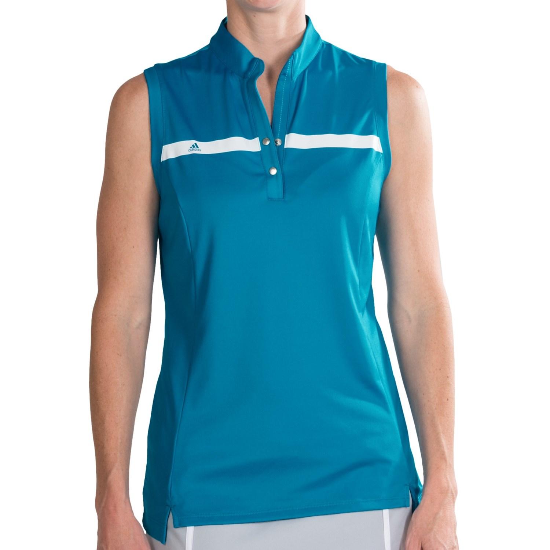 Adidas golf shirts for women