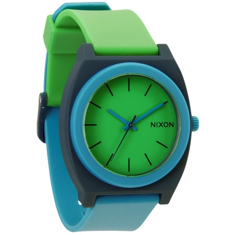 Nixon Time Teller Watch - Rubber Strap (For Men and Women)